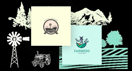 Farmers logo maker