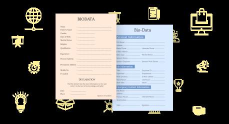 biodata form maker