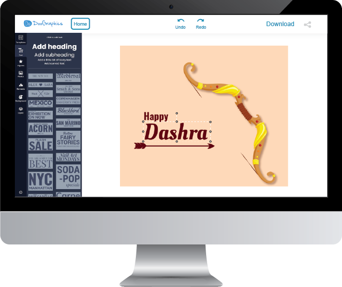 template-for-dussehra