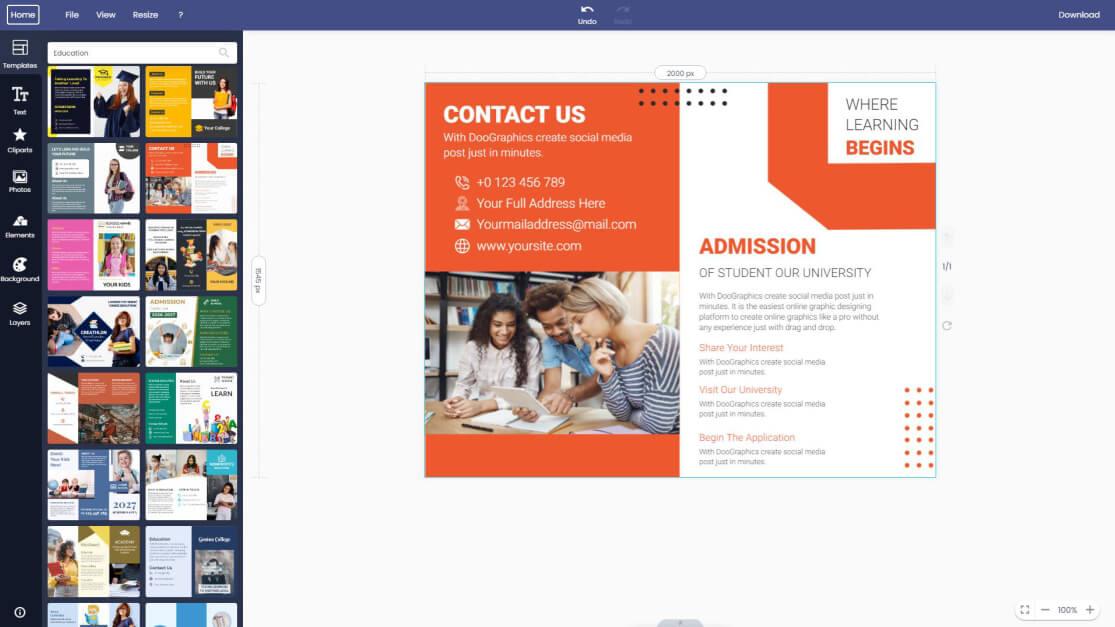 education-brochure
