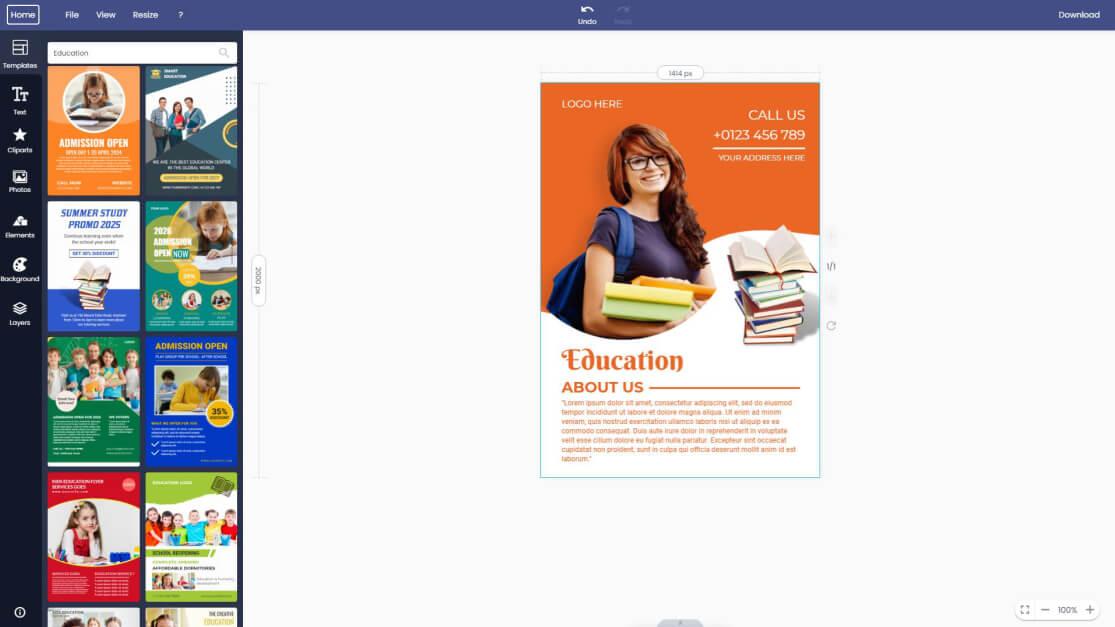 education-flyer