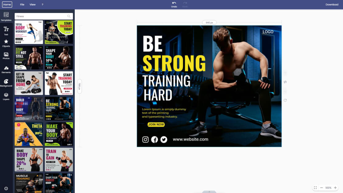 fitness-facebook-post