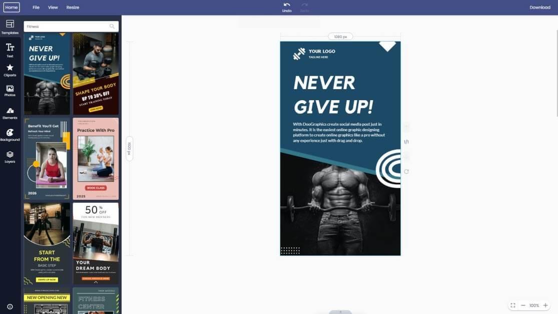 fitness-instagram-story