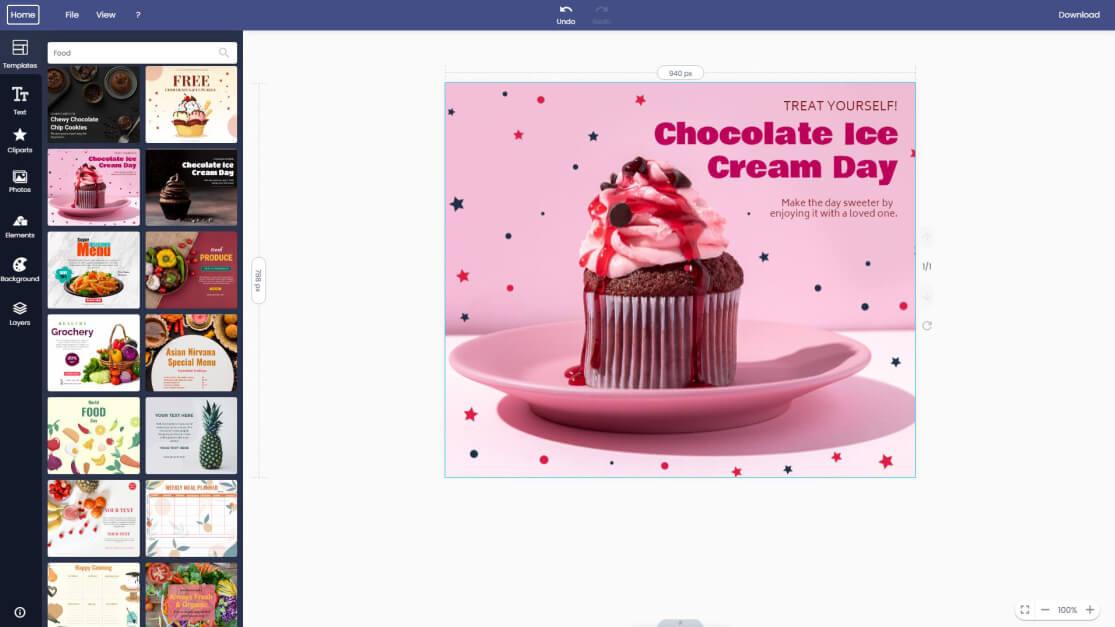 food-facebook-post
