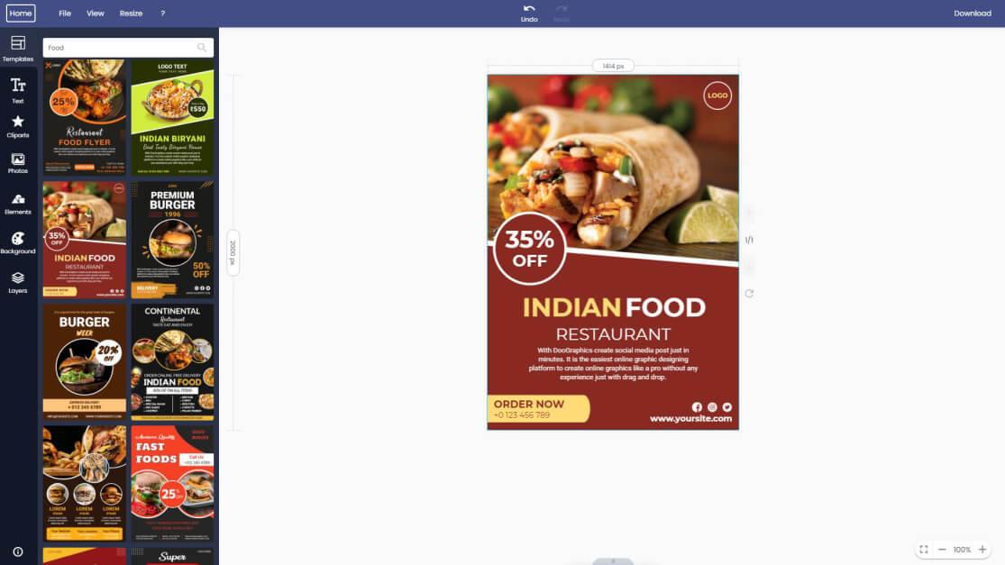 food-flyer
