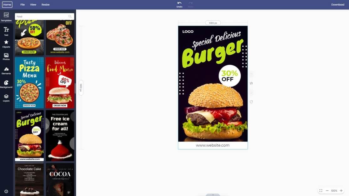 food-instagram-story