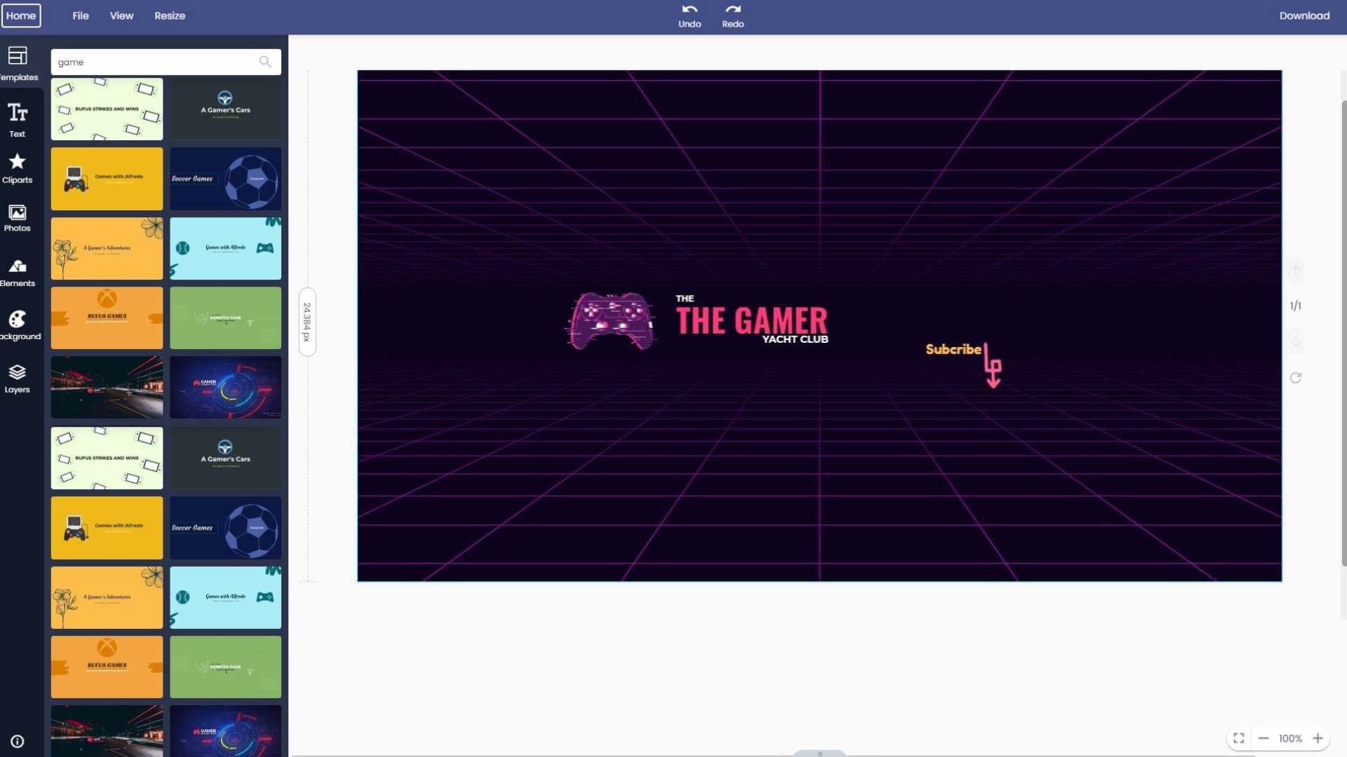 game-youtube-channel-art-maker