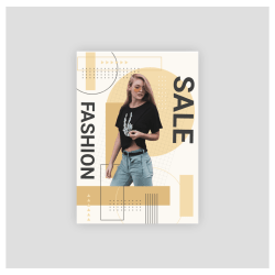 fashion sale poster maker online