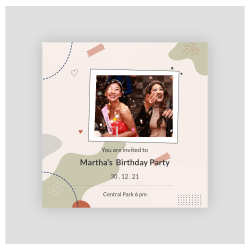 party invitation maker