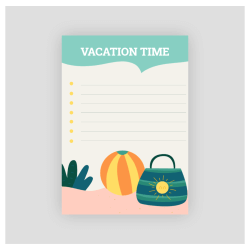 vacation time planner