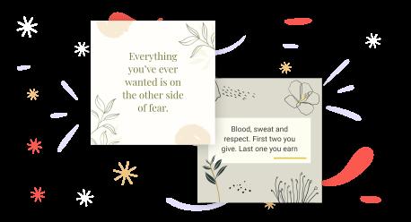 motivation quotes maker