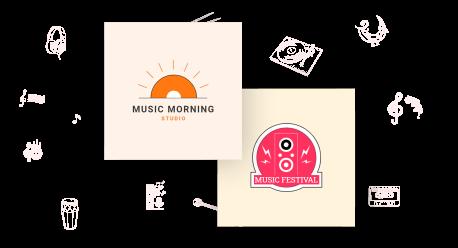 music-logo maker
