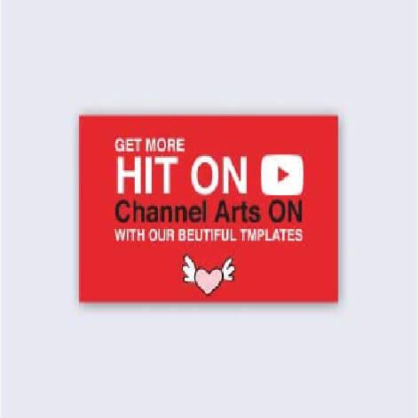 online design tool Youtube Channel Arts Maker
