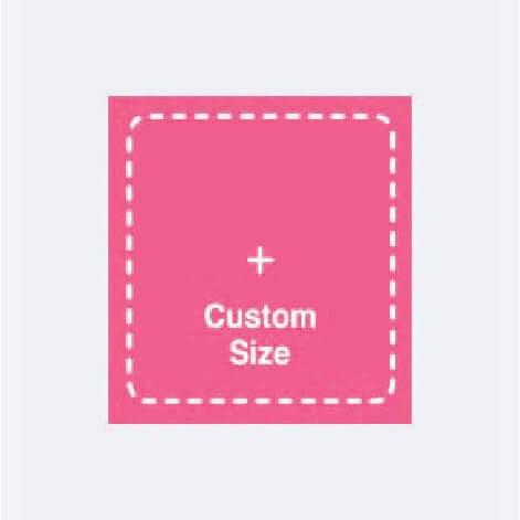 online design tool Custom Size