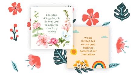 positive quotes maker
