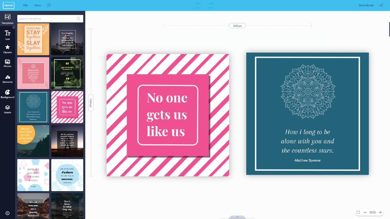 Doographics quotes maker online