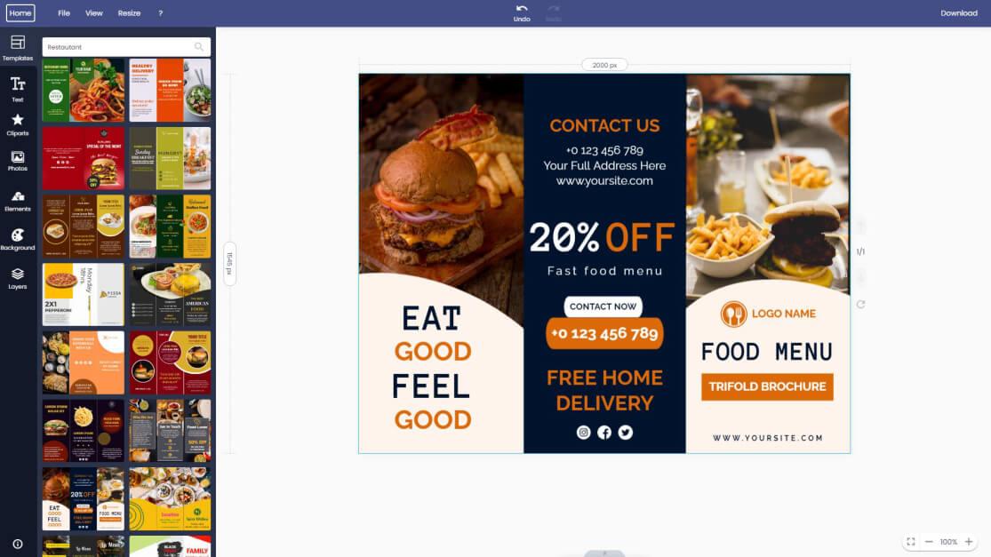 restaurant-brochure