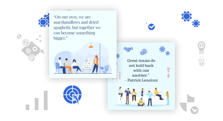 teamwork quotes maker