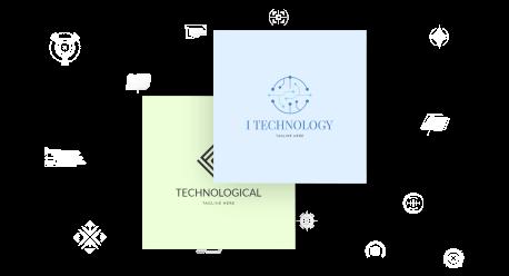technology logo maker
