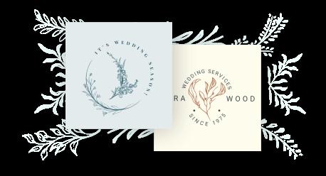 wedding logo maker
