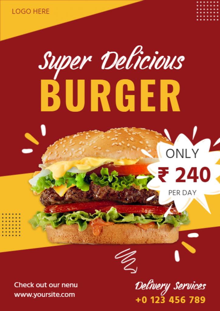 burger-food-flyer-templates