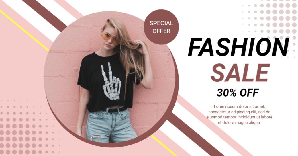 fashion-sale-for-online-facebook-ad-maker