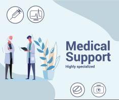 facebook medical support