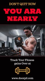 fitness Instagram-story maker