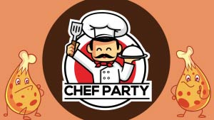 YouTube Thumbnail For Chef Party