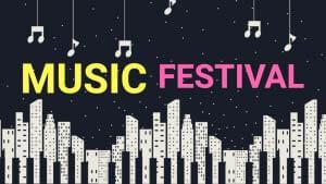 YouTube Thumbnail For Music Festival t