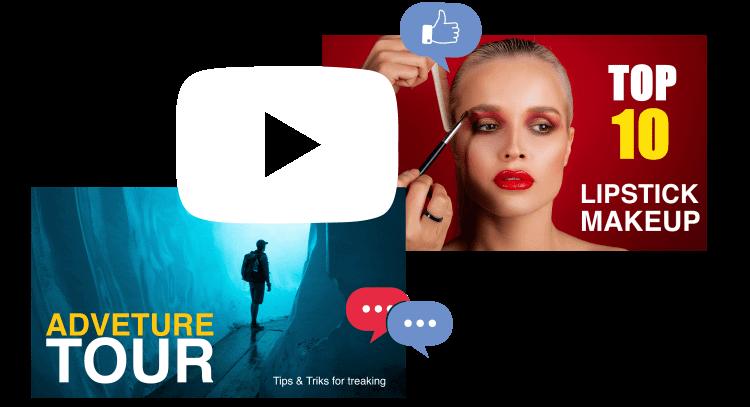 YouTube Thumnail Maker Slider Image