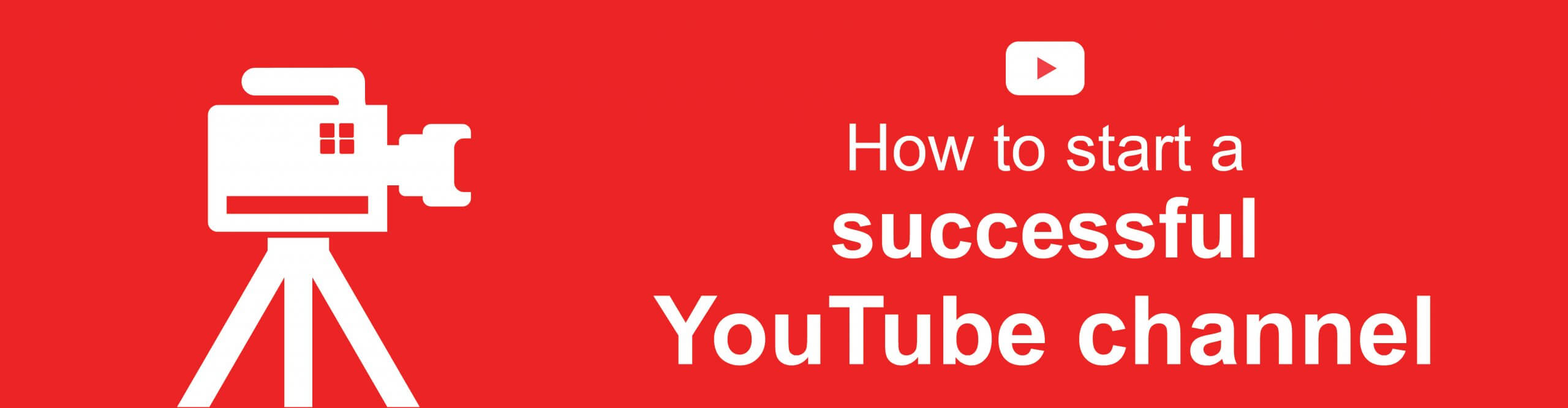 start your youtube channel