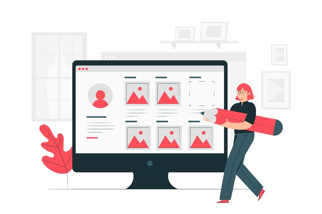 build a portfolio for freelancer with doographics