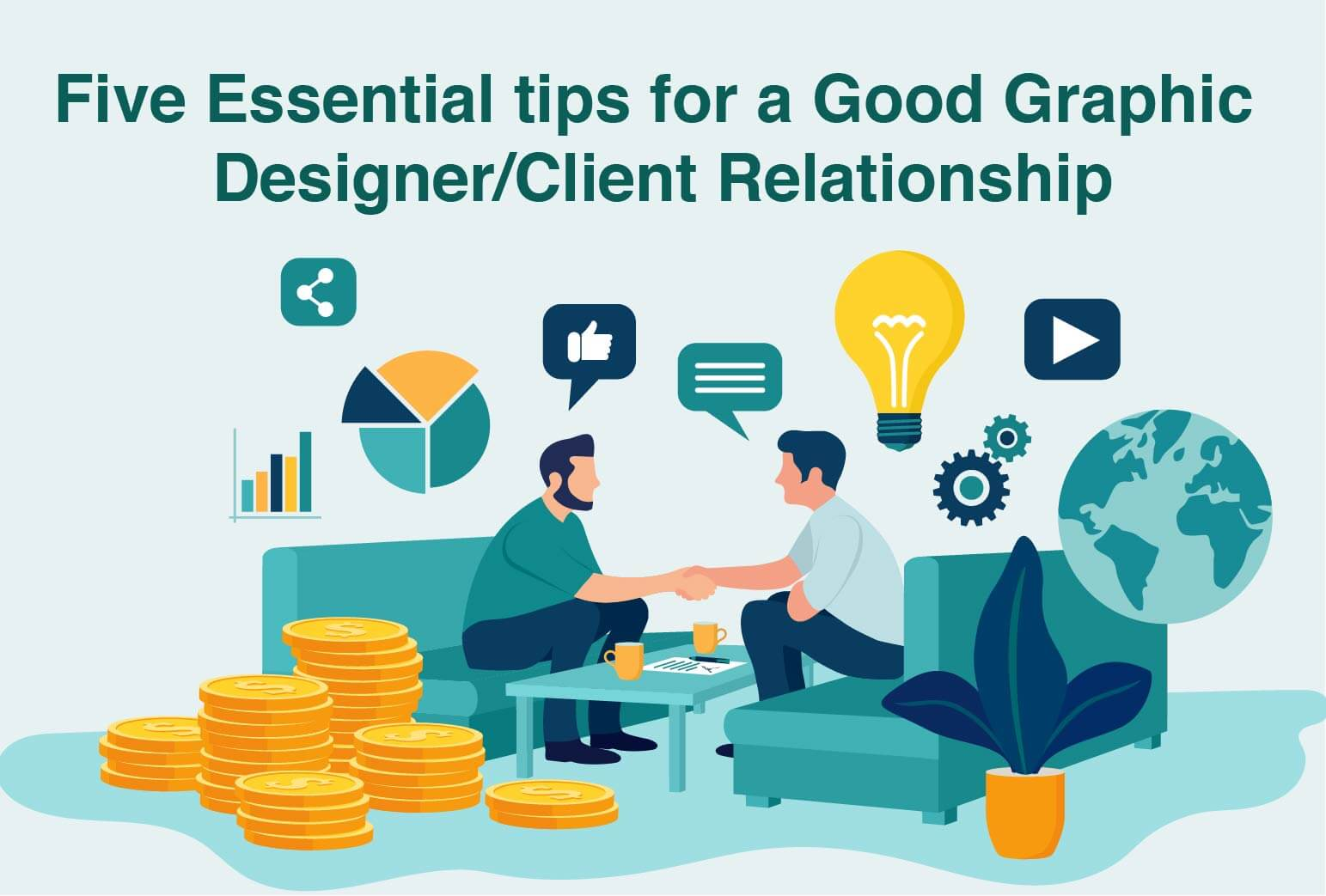 5 essential tips for a Good Graphic Designer/Client Relationship