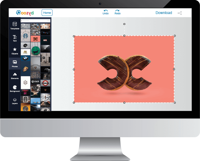 Stock Footage Logo Maker