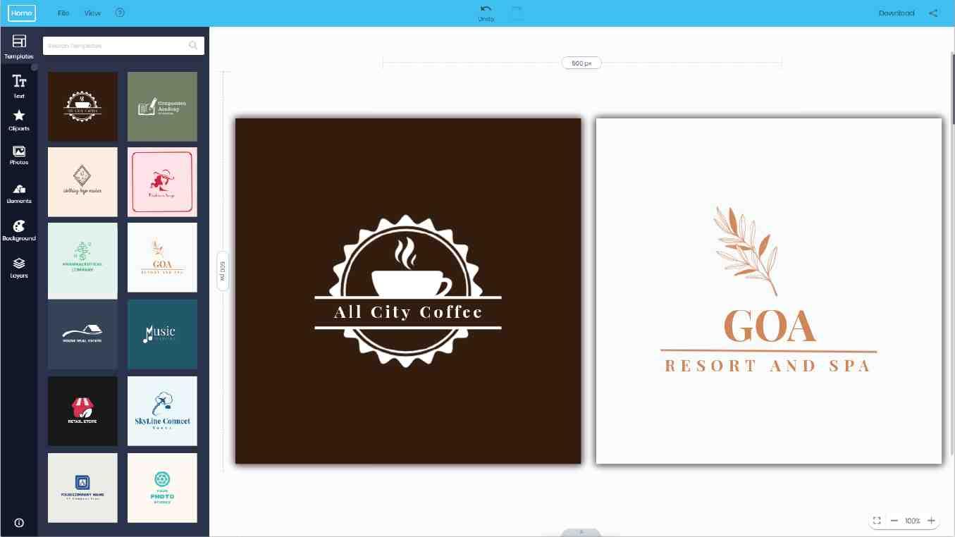 Logo Maker Editor