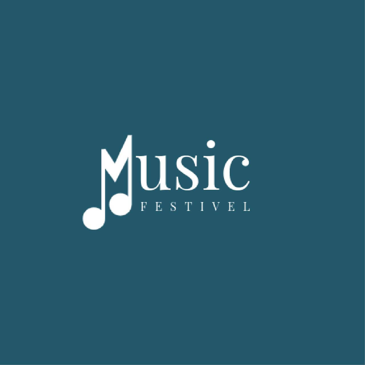 Music logo maker