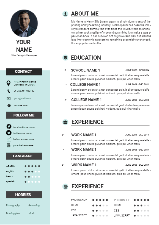 educational Resume Maker